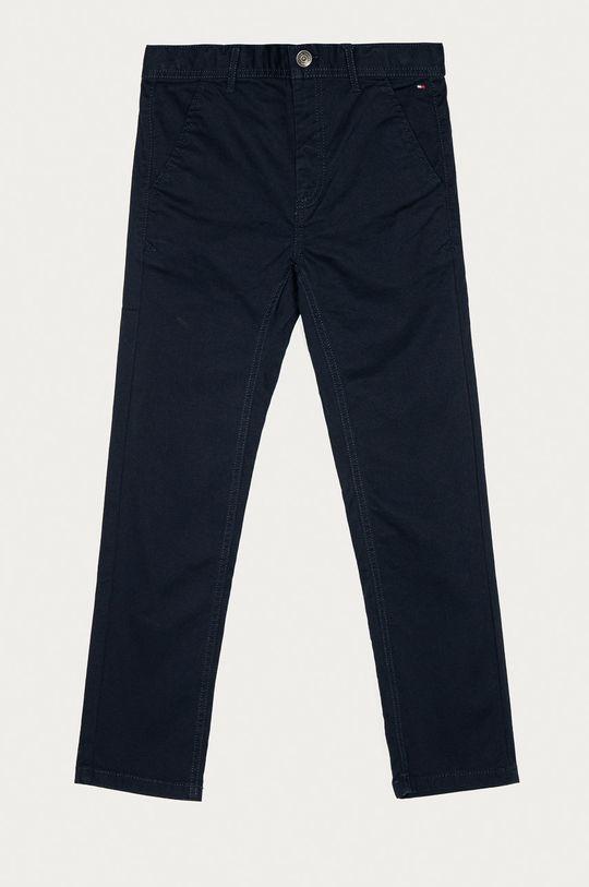 námořnická modř Tommy Hilfiger - Dětské kalhoty 80-176 cm Chlapecký