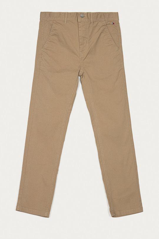 beżowy Tommy Hilfiger - Spodnie dziecięce 80-176 cm Chłopięcy