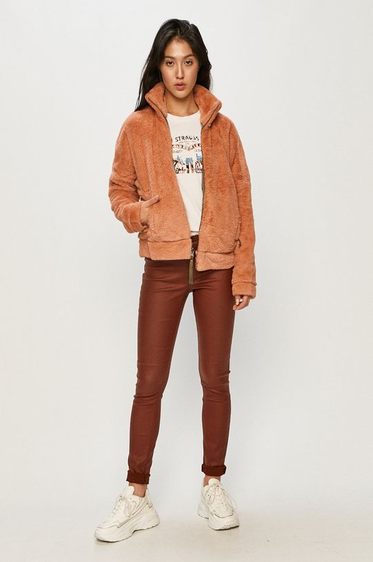 Jacqueline de Yong - Spodnie brązowy