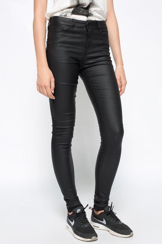 czarny Vero Moda - Spodnie Smooth Damski