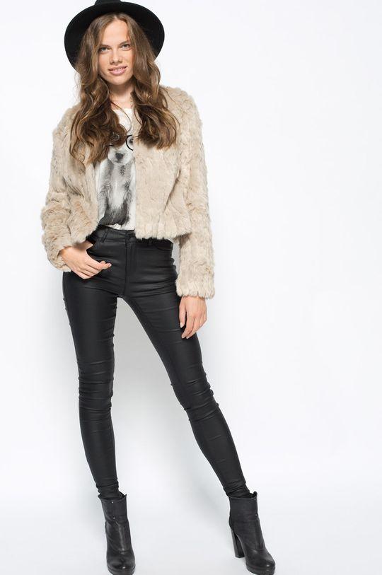 Vero Moda - Spodnie Smooth czarny