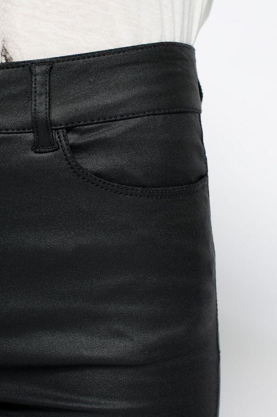 czarny Vero Moda - Spodnie Smooth