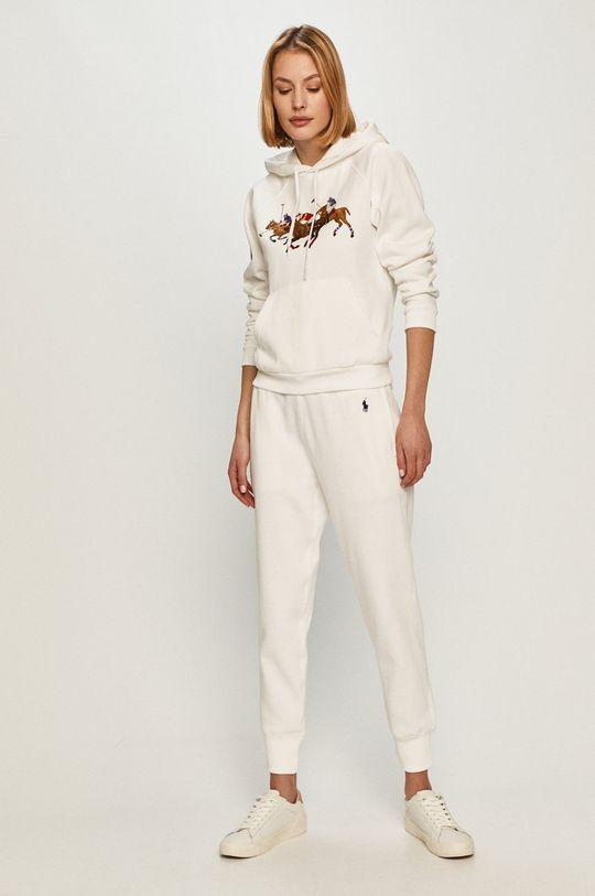 Polo Ralph Lauren - Kalhoty bílá