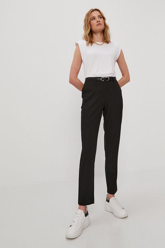 Pieces - Kalhoty černá