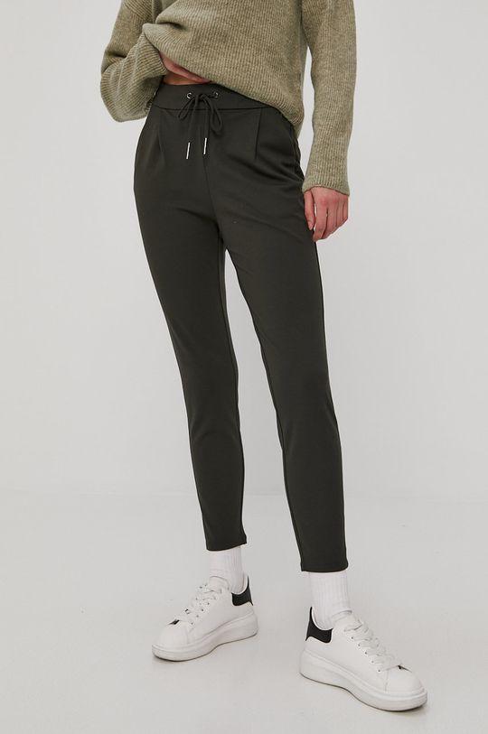 oliwkowy Vero Moda - Spodnie Damski
