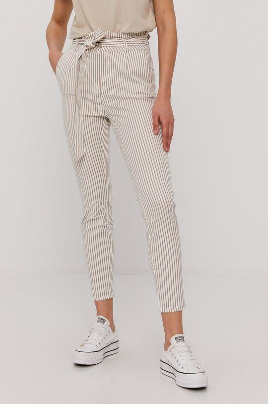 biały Vero Moda - Spodnie Damski