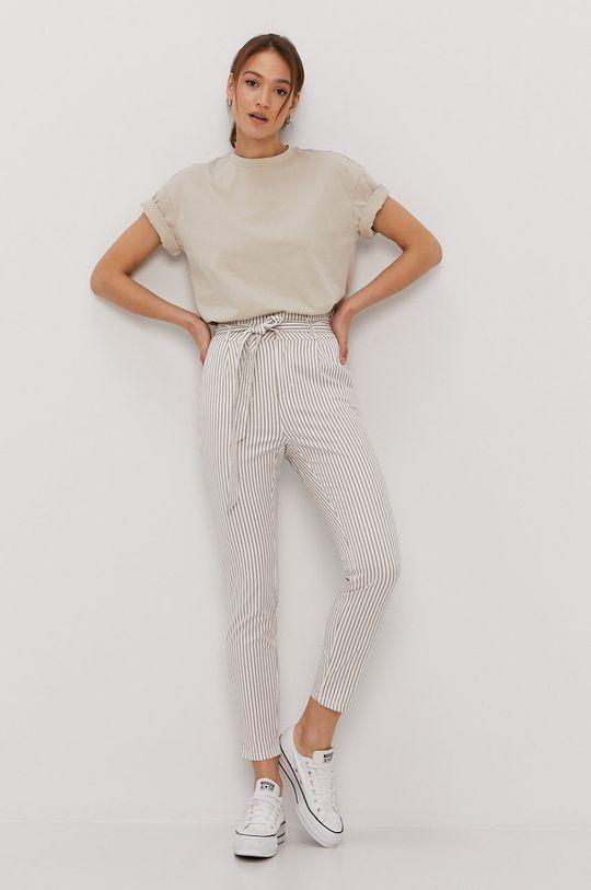 Vero Moda - Spodnie biały