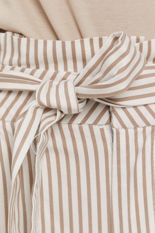 biały Vero Moda - Spodnie