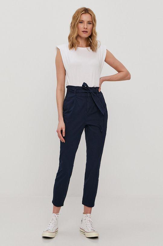 granatowy Vero Moda - Spodnie Damski