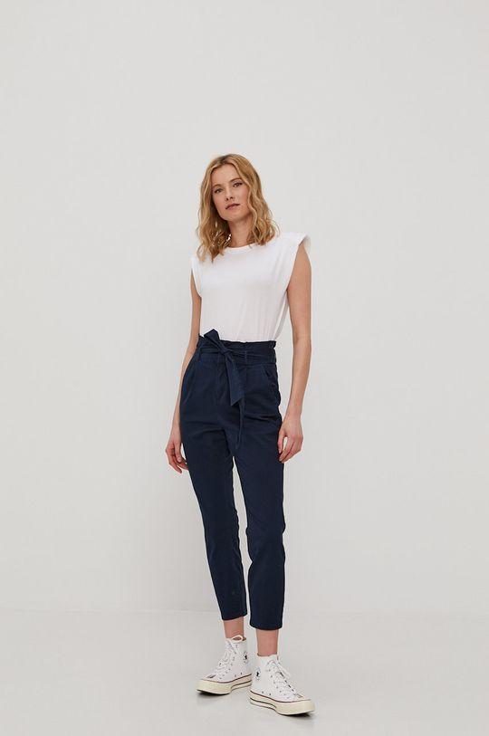 Vero Moda - Spodnie granatowy