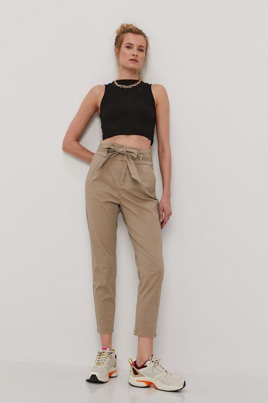 Vero Moda - Spodnie szary