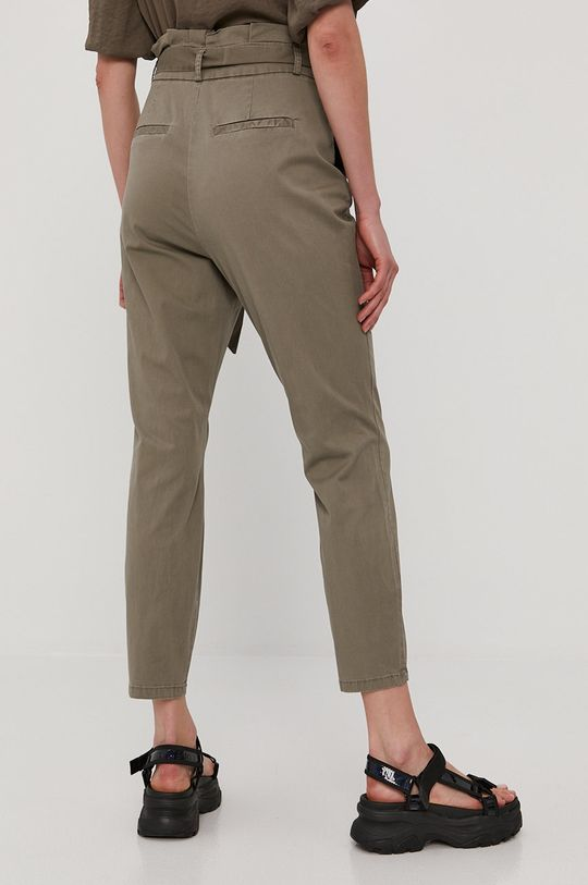 Vero Moda - Kalhoty  48% Bavlna, 50% Organická bavlna, 2% Elastan