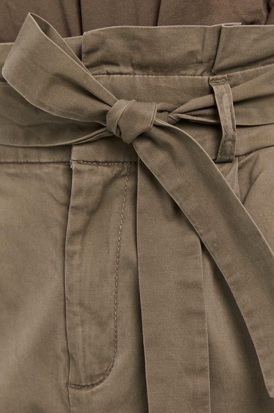 tlumená zelená Vero Moda - Kalhoty