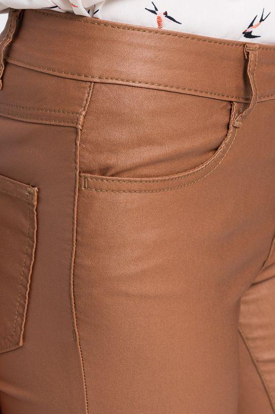 brązowy Vila - Spodnie