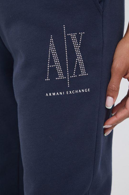 bleumarin Armani Exchange - Pantaloni
