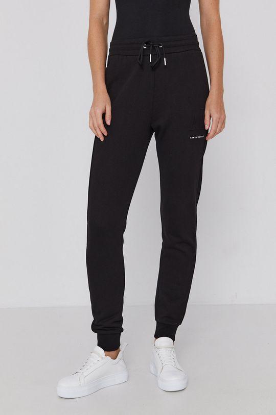 Armani Exchange - Pantaloni negru