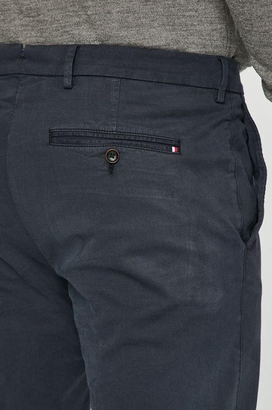 námořnická modř Tommy Hilfiger Tailored - Kalhoty