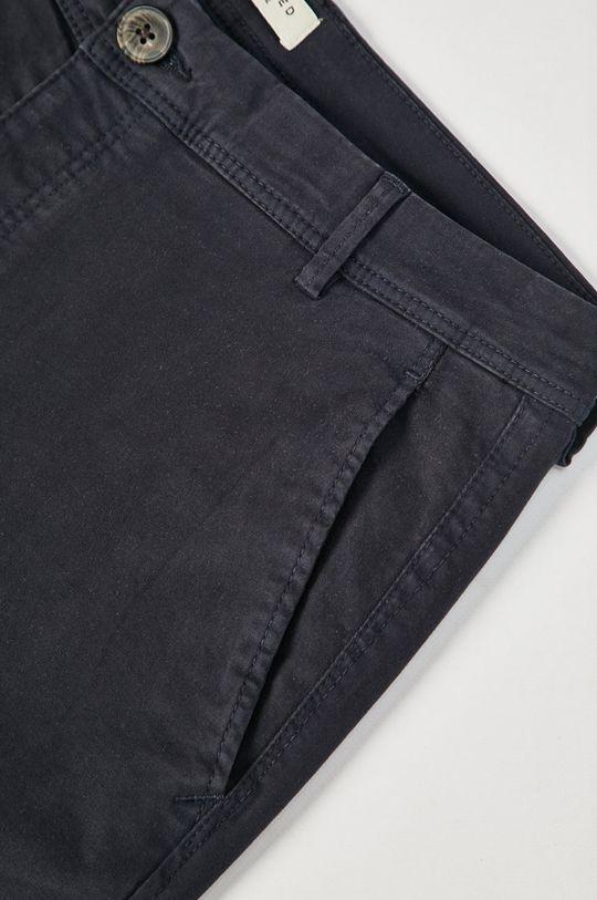 granatowy Selected - Spodnie
