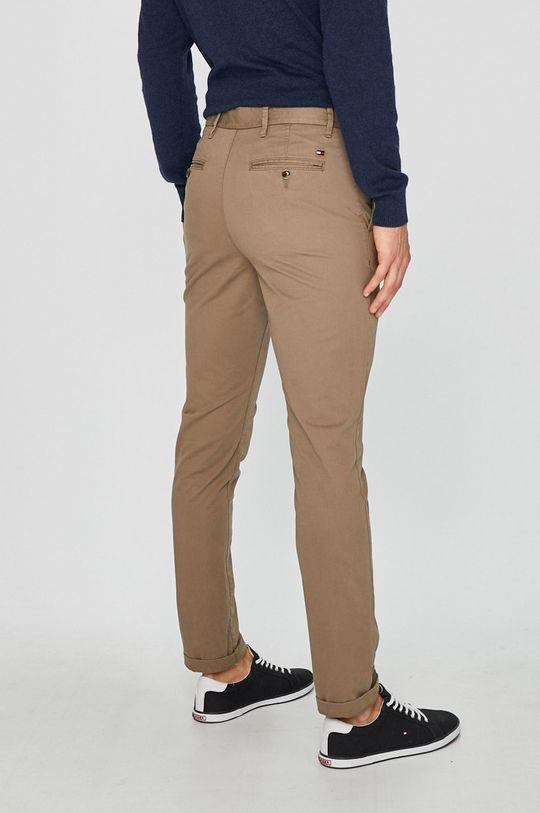 Tommy Hilfiger - Kalhoty Denton Chino Org Str Twill 97% Organická bavlna, 3% Elastan