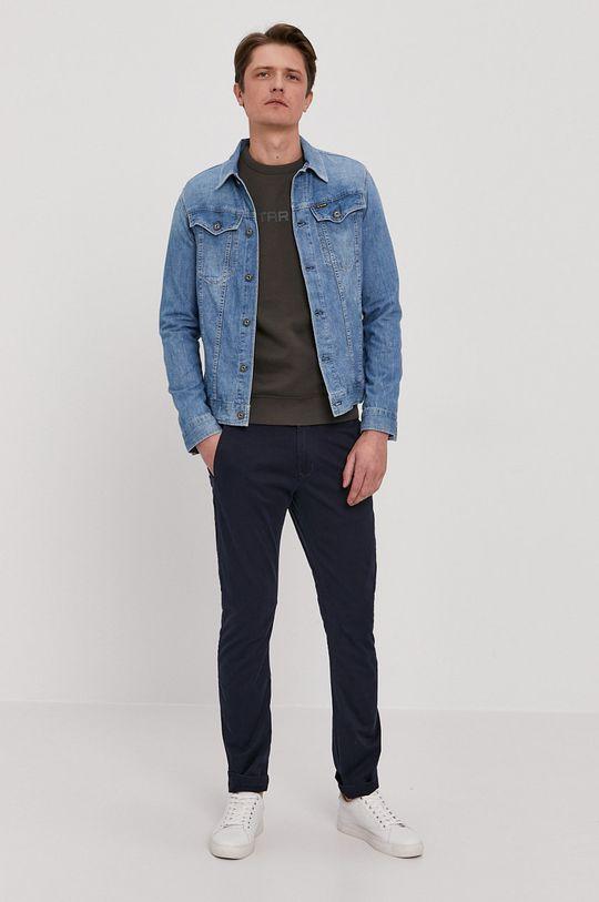 G-Star Raw - Kalhoty námořnická modř