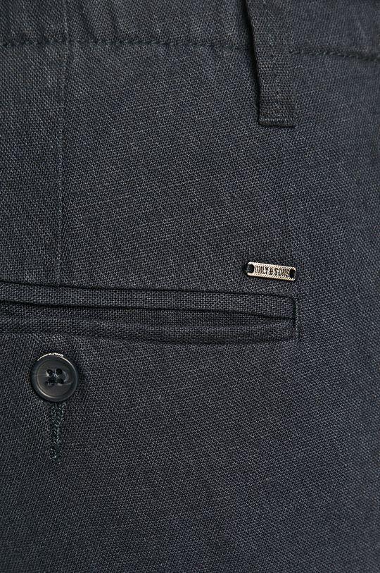 námořnická modř Only & Sons - Kalhoty