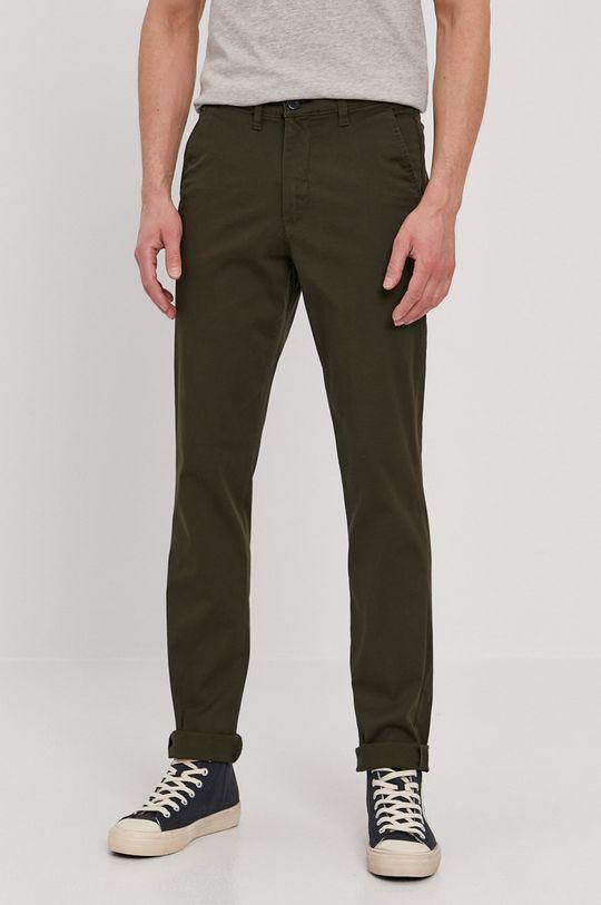 zelená Selected - Kalhoty Pánský