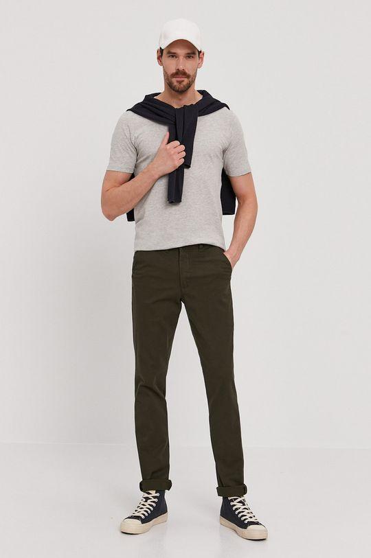 Selected - Kalhoty zelená