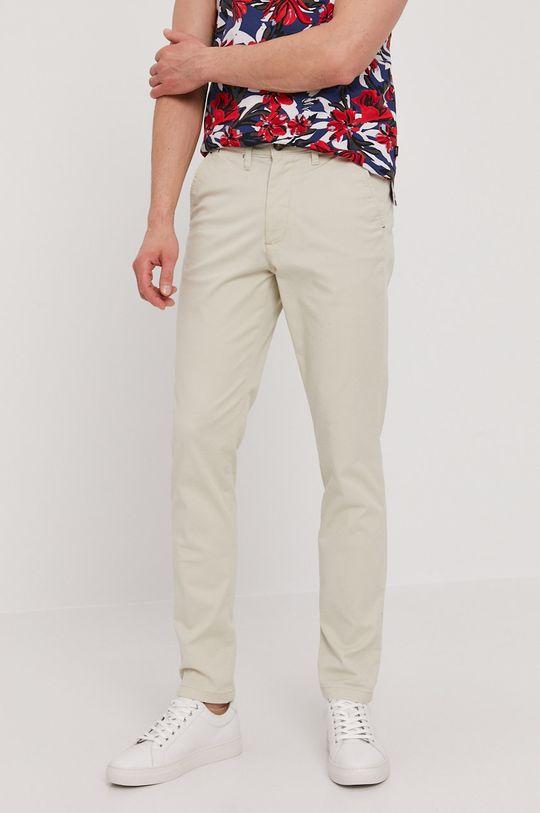 béžová Selected - Kalhoty Pánský