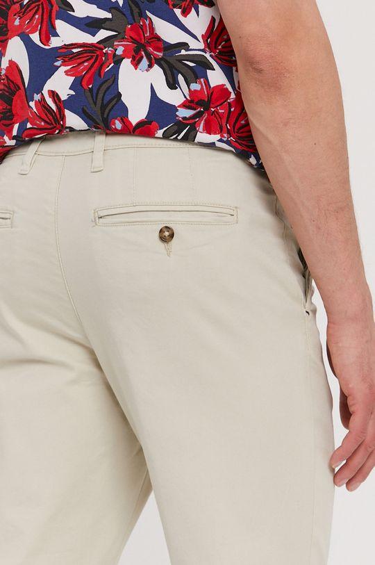 béžová Selected - Kalhoty