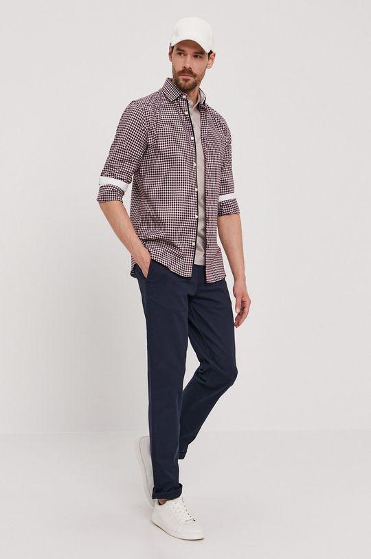 Selected - Kalhoty námořnická modř