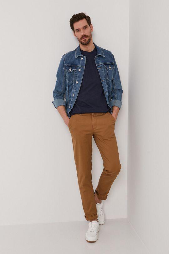 Selected - Spodnie kawowy