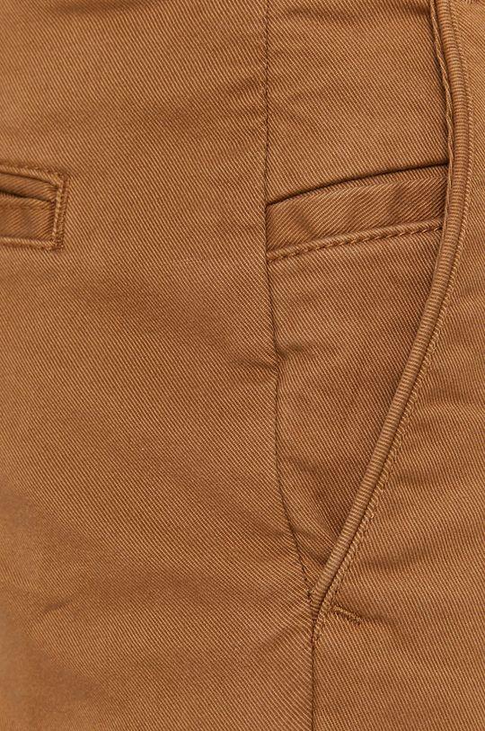 kawowy Selected - Spodnie