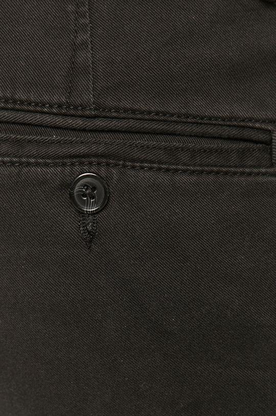czarny Selected - Spodnie