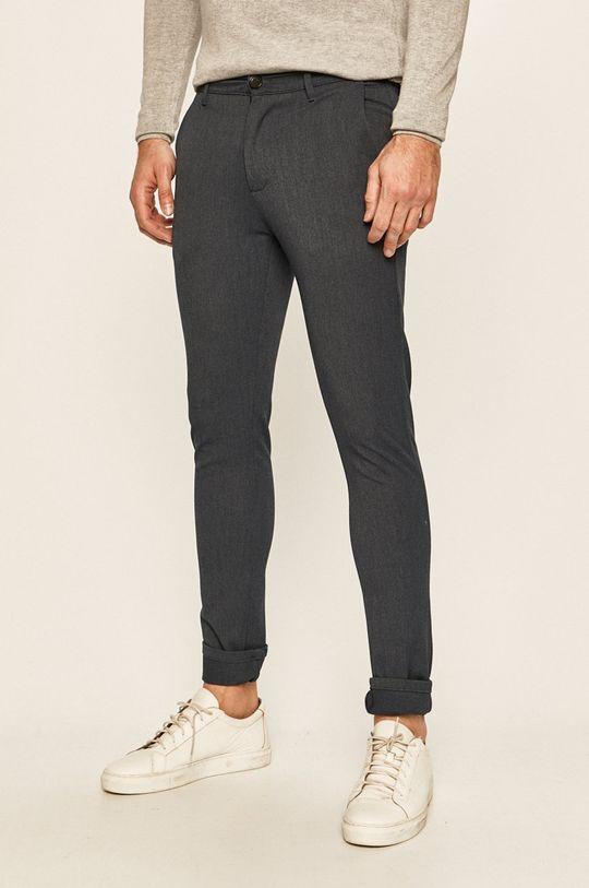granatowy Tailored & Originals - Spodnie Męski