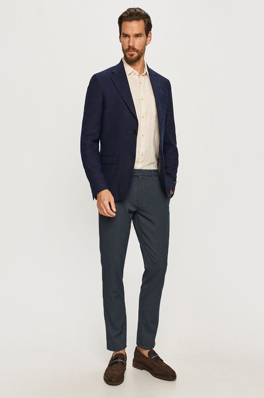 Tailored & Originals - Spodnie granatowy