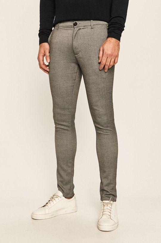 czarny Tailored & Originals - Spodnie Męski