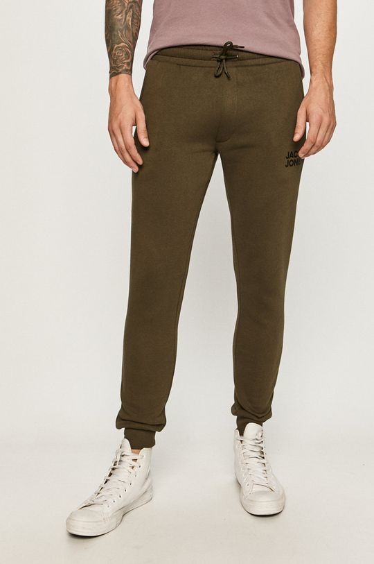 verde Jack & Jones - Pantaloni De bărbați