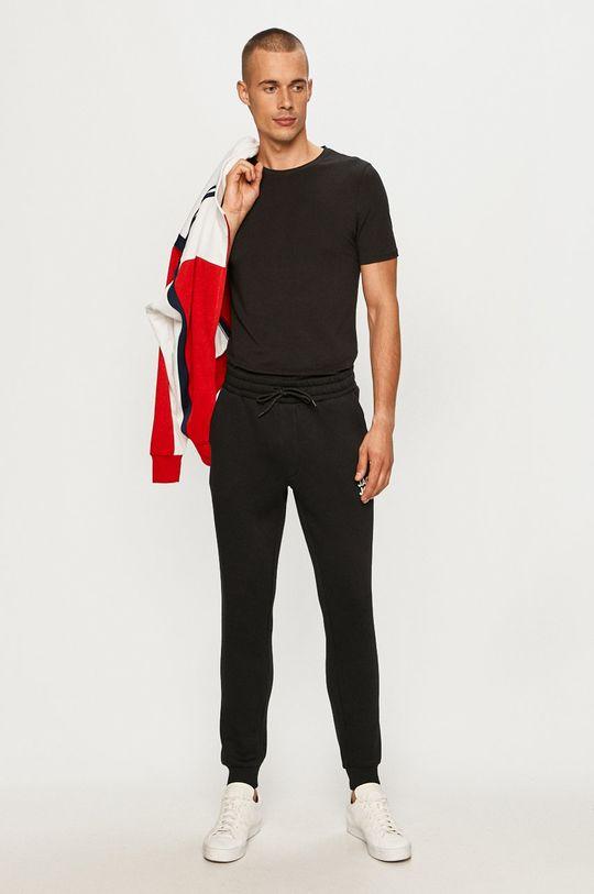 Jack & Jones - Kalhoty černá