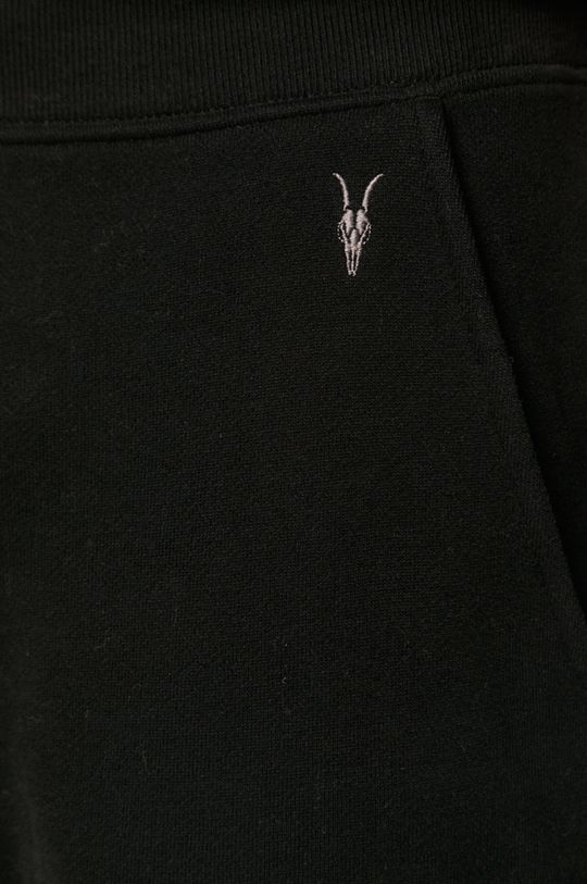 czarny AllSaints - Spodnie Raven Sweat Pant