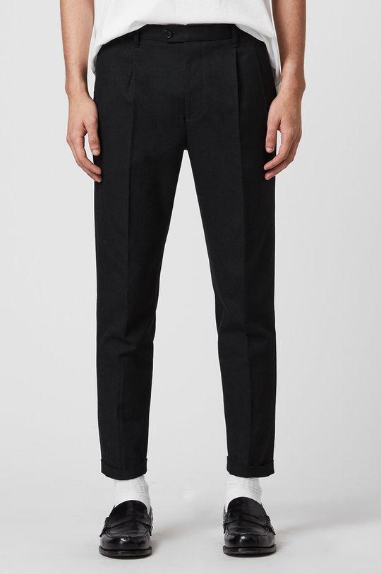 černá AllSaints - Kalhoty Tallis Trousers Pánský