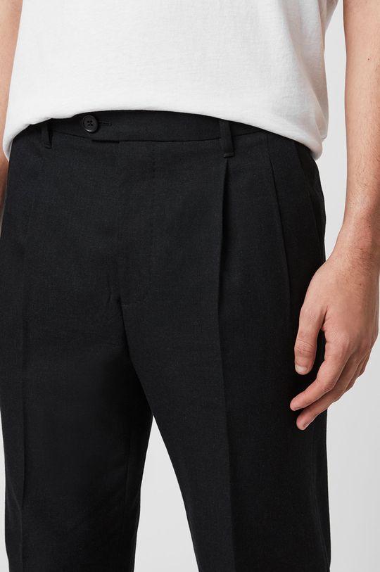 AllSaints - Kalhoty Tallis Trousers černá