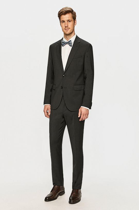 Hugo - Kalhoty šedá
