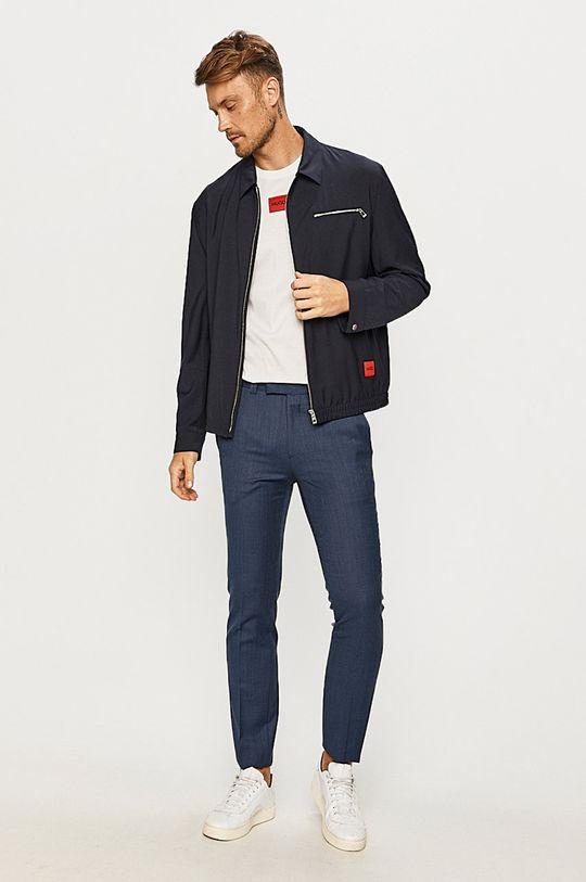 Hugo - Kalhoty námořnická modř