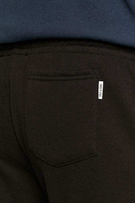 czarny Only & Sons - Spodnie