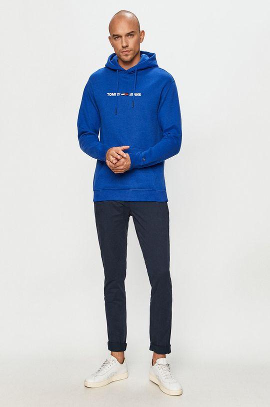 Tommy Jeans - Kalhoty námořnická modř