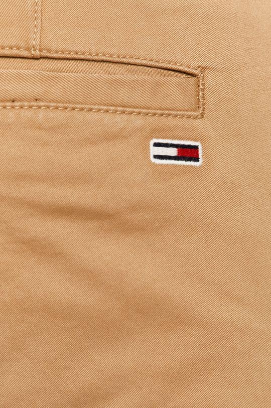 béžová Tommy Jeans - Kalhoty