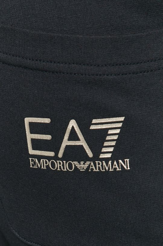 námořnická modř EA7 Emporio Armani - Kalhoty