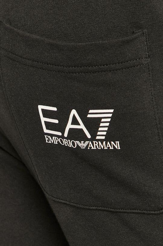 czarny EA7 Emporio Armani - Spodnie
