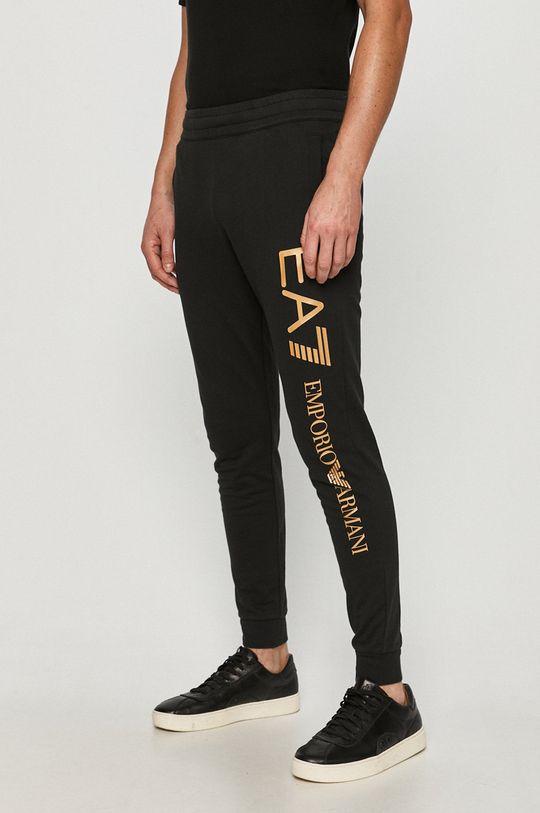 negru EA7 Emporio Armani - Pantaloni De bărbați