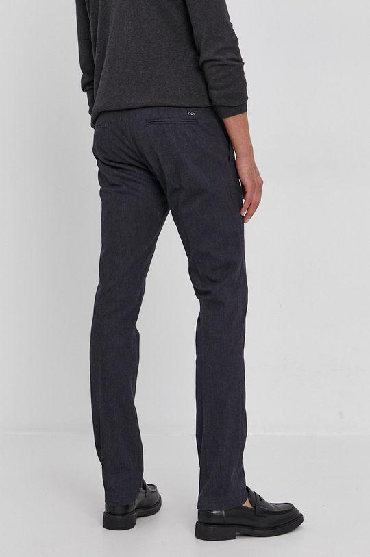 Emporio Armani - Spodnie 56 % Bawełna, 2 % Elastan, 27 % Poliester, 15 % Wiskoza